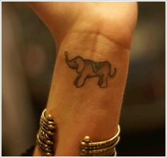 elephant tattoo (13)