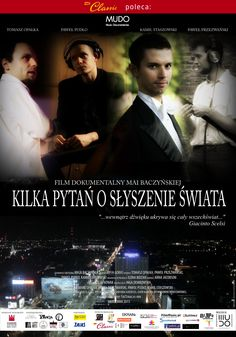 """""""A few questions about hearing of the world"""" - polish full-length film about young composers of contemporary music and film music by Maja Baczyńska & MUDO Music Documentaries. Shown in. Poland, Estonia, Israel."""