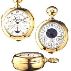Most Expensive Watches - Patek Phillipe Calibre 89 $6,000,000