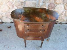 Martha Washington Sewing Cabinet  ~ Reloved