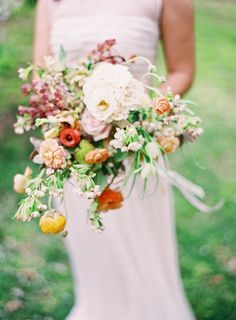 Gorgeous bouquet by Saipua, photo by Jen Huang