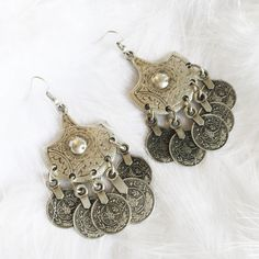 Melody - Authentic Coin Earrings – Druzy Dreams