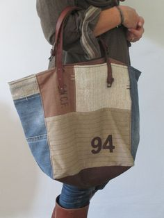Image of Sac Fourre-Tout zippé { SFTZ-03 } great job please Visit my site https://www.upcyclingbymilo.com/ for more products