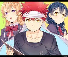 Ugh~ Shokugeki no Souma (Food Wars) is such a good show, WHY CAN'T I FIND ANY FANART OF IT??! ;A; ...it's just like Assassination Classroom... >_>