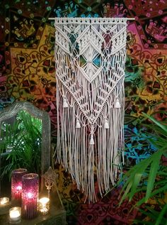 Large Macrame Wall Hanging Macrame Wall by MacrameElegance on Etsy - Grand Opening Sale $180.00