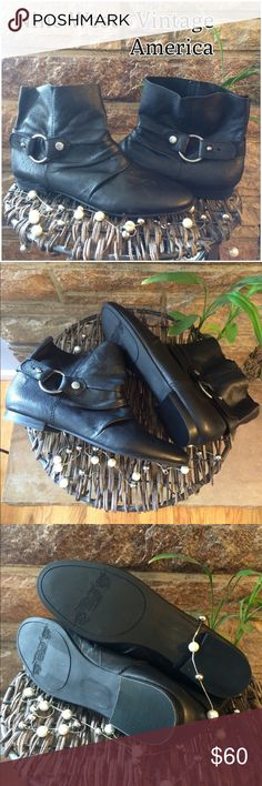 Nine West Vintage America Ankle Boots - NWOB Brand new, never worn. Gorgeous little simple boots for wearing all fall and winter...and now if you like!! Has a small adjustable outside strap. Nine West Shoes Ankle Boots & Booties