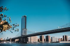 Manhattan Bridge, San Francisco Skyline, Travel, Viajes, Destinations, Traveling, Trips