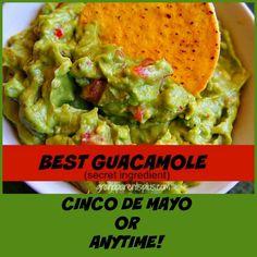 Best Guacamole (+secret ingredient)  grandparentsplus.com