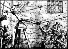 The Judas Cradle 16 Of The Most Fucked-Up Torture Methods From History Torso Tattoos, Spanish Inquisition, Dark Tattoo, Dark Art, Art History, Past, Medieval, Horror, Painting