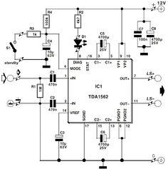23 best amplifier images on pinterest in 2018 audio amplifier rh pinterest com Class A Amplifier Circuit Audio Power Amplifier Circuit