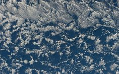Frosty image: The clouds appear like hardened frost on the windscreen of the sky, in this arty photograph shot from the space station Chris Hadfield, Space Station, Shots, Clouds, Earth, Outdoor, Image, Instagram, Photograph