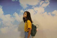 "honey-lavendeer: "" me x a cool wall """