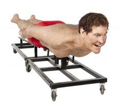For Sale: A Creepy Gigantic Model of David Hasselhoff