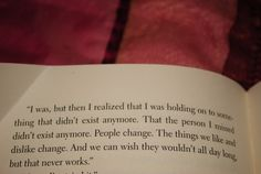people change quote by Sarah Ockler