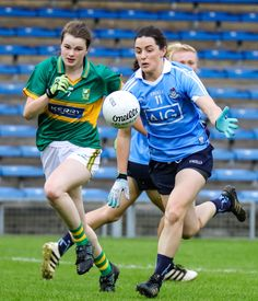 Dublin take on Kerry this Saturday the of March at in Croke Park (live on Eir Sport 1 from this game will also feature as part of a double bill with Jim Gavin's Dublin taking on the men from the Kingdom at Croke Park, Sport Quotes, Dublin, Irish, Notes, Football, Exercise, Running, Lady