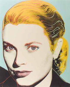 View Grace Kelly by Andy Warhol on artnet. Browse more artworks Andy Warhol from OSME Fine Art. Pop Art Andy Warhol, Andy Warhol Prints, Andy Warhol Portraits, Warhol Paintings, Portrait Paintings, Grace Kelly, Jasper Johns, Roy Lichtenstein, Art Pop