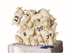 The Counting Sheep finally give in to the power of Serta comfort, with Serta sheep # 13 as the last sheep standing! The rest of the Counting Sheep herd may have failed in their mission, but unlucky #13 may just be able to turn their luck around…or at least attempt to. Good luck, Mr. Bad Luck!