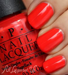 OPI My Paprika Is Hotter Than Yours Nail Polish Swatch
