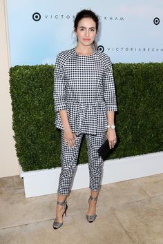 Camilla Belle at  the Victoria Beckham For Target Launch Event