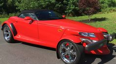 1999 Plymouth Prowler Convertible presented as Lot F2 at Harrisburg, PA