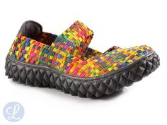Rock spring rainbow shoes