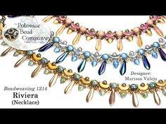 Riviera Necklace (Tutorial) - YouTube