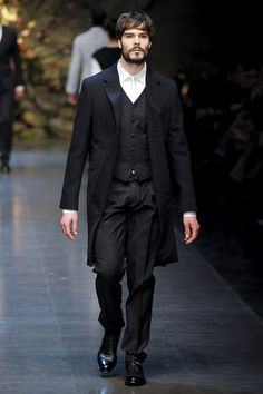 DÉFILÉS HOMME   AUTOMNE-HIVER 2013-2014  Dolce & Gabbana