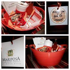 Orange you glad it's summer?  Apartment marketing  Out reach marketing  Themed gift baskets teacher appreciation