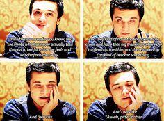"""No, Josh. I was like, """"Aw, pitter-patter"""""""
