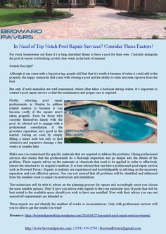 For every homeowner out there it's a long cherished dream to have a pool for their own. Cocktails alongside the pool at sunset overlooking crystal clear water in the heat of summer.