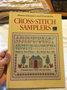 BETTER HOMES & GARDENS CROSS STITCH SAMPLER BOOK  | eBay