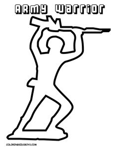 Army Guy Coloring Page Army Camo, Army Men, Military, Army Crafts, Camo Party, Toy Story Theme, Army Soldier, Coast Guard, Free Coloring Pages