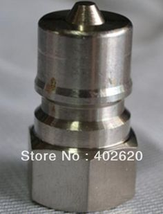 299.99$  Watch more here - http://aive1.worlditems.win/all/product.php?id=1423484917 - KZE1/2, 1/2 hydraulic coupler,stainless steel material, quick connectors, quick coupler fast shipping
