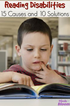 Reading disabilities are all too prevalent in today's classrooms. This post from a reading specialist explores 15 symptoms and 10 solutions to struggles. Reading Centers, Reading Intervention, Reading Workshop, Teaching Reading, Guided Reading, Reading Comprehension, Close Reading, Teaching Tips, Reading Club