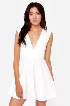 Little white dress $49