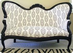 Amazing couch and rug. Maybe for a very old-style sitting room?
