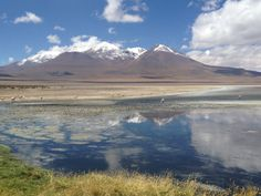 Lagoon near the Uyuni Salt Flat