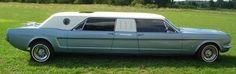 1966 Mustang Limo. www.midnightrunlimo.com #personalchauffeur #privatedriver #orangecountylimo