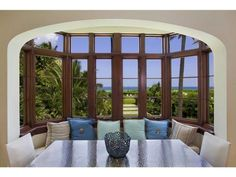 A great breakfast nook with beach and ocean views. Miami Beach, FL Coldwell Banker Residential Real Estate