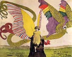 One of the many amazing works of Henry Darger, the most amazing and inspiring accidental artist to have existed, in my opinion.