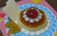 You can eat 🍮 DIY Purin Parfait shaped Candy Kit - popin' cookin' 14 可吃 Pink Foods, Sour Candy, Cute Desserts, Cafe Food, Aesthetic Food, Aesthetic Pastel, Just In Case, Food And Drink, Yummy Food