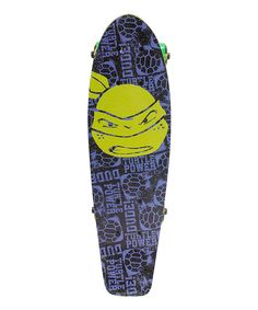 Look at this TMNT 'Turtle Power' Skateboard on #zulily today!