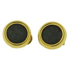 bulgari monete ancient coin gold earrings