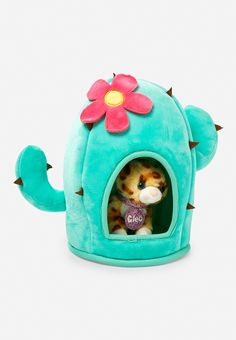 Cactus Pet House Pet Shop Pet Toys Little Girl Toys