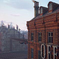 Assassin's Creed Syndicate - Victorian residential buildings - Textures, Bruno Morin on ArtStation at https://www.artstation.com/artwork/xdnPO
