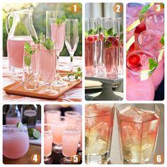 Wedding Specialty Drinks: Pink Cocktails [ Borsarifoods.com ] #drinks #recipes #food