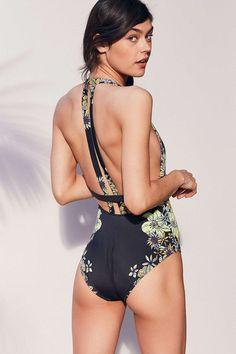 0b8e50b363c1 New Sexy Push Up Women One Piece Swimsuit High Waisted Bathing Suits Bikini  Set Beach Plus