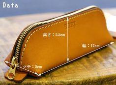 PORCO ROSSO | Rakuten Global Market: Vegetable tanning leather pen case made by japanese craftman[sokunou]【fs01gm】