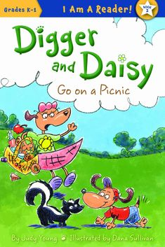 Meet Digger and Daisy! They are brother and sister. These dogs like to explore their world and see new things. Sometimes they agree with each other. Sometimes they disagree. But no matter the. Digger, Picnic, Daisy, Brother, To Go, Anna, Sisters, Meet, Explore