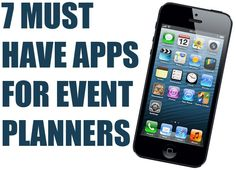 Whether you're an event planner or aspiring to be one, don't miss these productivity apps for event planners. Whether you're an event planner or aspiring to be one, don't miss these productivity apps for event planners. Event Planning Tips, Event Planning Business, Business Events, Party Planning, Wedding Planning, Business Cards, Event Organiser, Event Organization, Mobile App